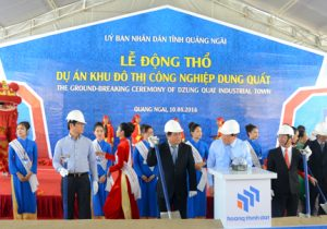 Work begins on Dung Quat Industrial Town project